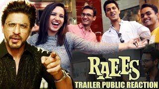 Fans Go Crazy On Raees Trailer | Public Reaction | Apna Time Shuru