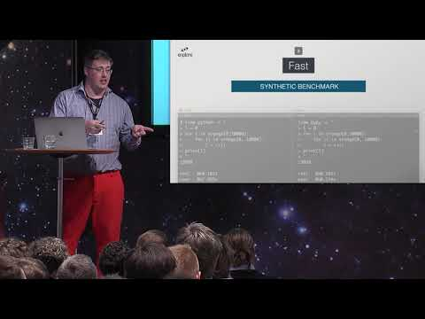 Using PyPy instead of Python for speed by Niklas Bivald