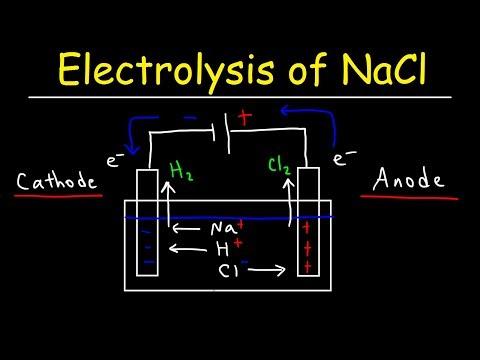 Electrolysis of Sodium Chloride - Electrochemistry