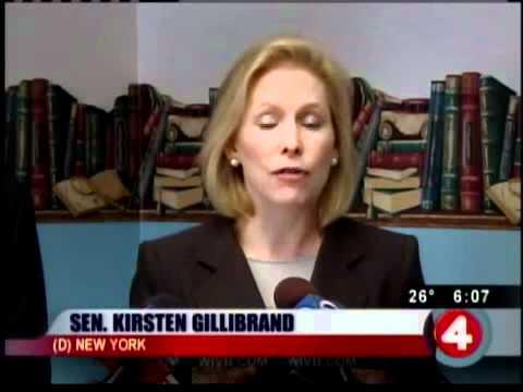 Gillibrand talks unemployment benefits
