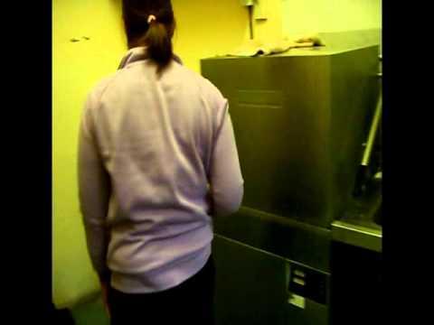 Dishwasher twice weekly salt process