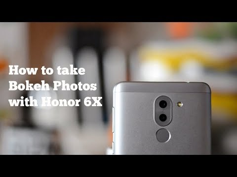 Honor 6X - How to take Bokeh (Background Defocus) Photos