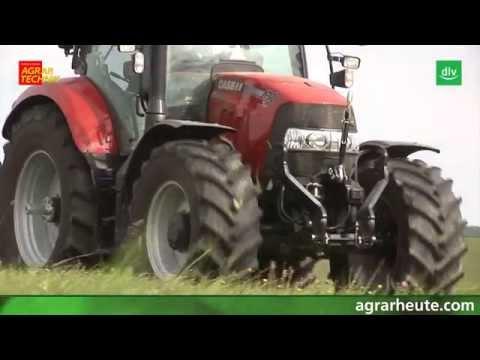Case IH Maxxum CVX Traktor im AGRARTECHNIK-Maschinentest