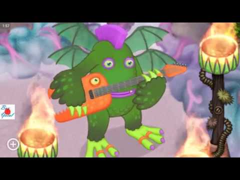 Buy Rare Riff for 200 diamonds on Mirror Air island (No audio) - My Singing Monsters