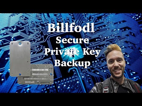 BillFodl - Secure Your Crypto Private Keys