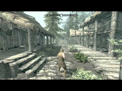 Skyrim, how to get a follower and carry more weight (backpack) Riverwood