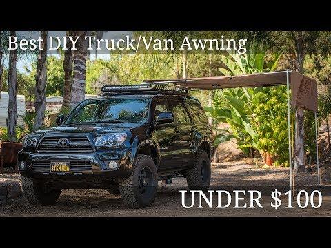 DIY Truck Awning - Under $100