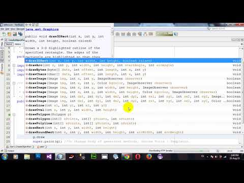 How to Create Object Font  using Java Applet and AWT in Netbeans