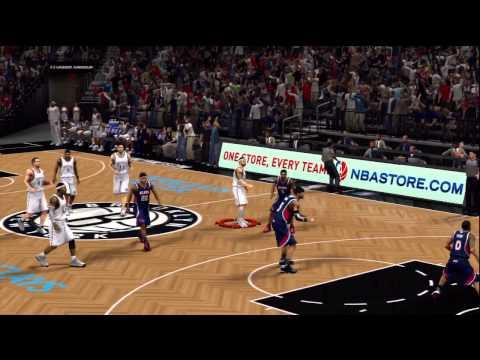 NBA 2K13 Deron Williams Halfcourt shot