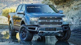 PHOTOSHOP New 2019 Ford Ranger #Raptor AT10 3.5 V6 EcoBoost 375 hp #FordRanger
