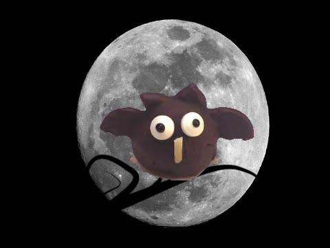 Owl Chocolate Truffles for Halloween