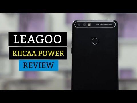 LEAGOO KIICAA POWER Review - FingerPrint - Android 7.0 | Best Budget Phone