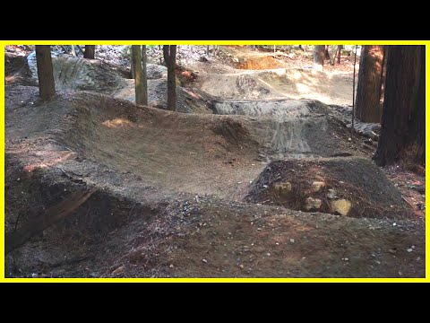 Pump Track Restoration Part 5 | HOW TO BUILD JUMPS