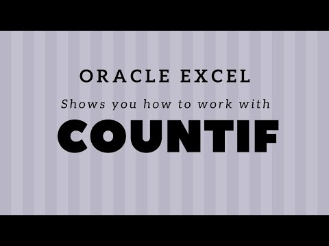 COUNTIF - How to count the number of occurrences of a specific word in Excel