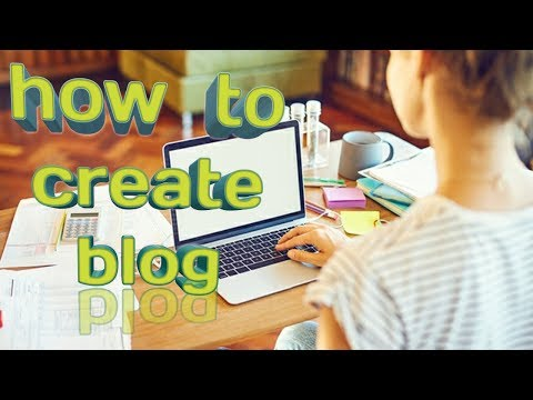 How to create your own blog in 2 minutes only free with  blogger.com