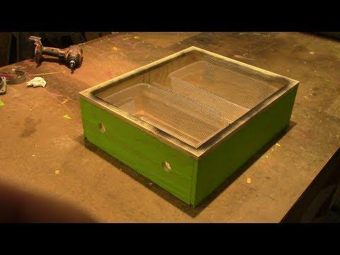 DIY Sugar Feeder for Langstroth Hive