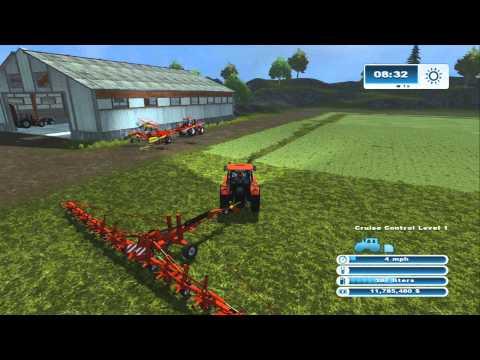 Farming Simulator XBOX 360: How to Raise Cows Episode 2 Hay