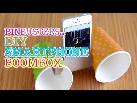 DIY Smartphone BoomBox // DOES THIS SMART PHONE HACK WORK?