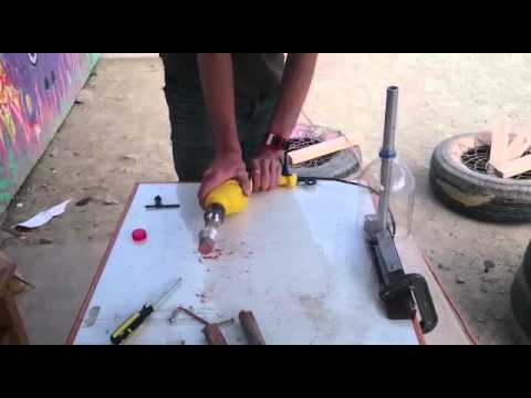 Plastic Bottle Cutter with Drill