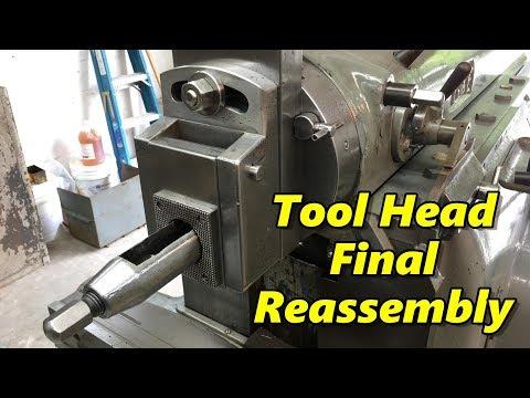 SNS 213: Shaper Tool Head Final Reassembly, Machine Tool Books