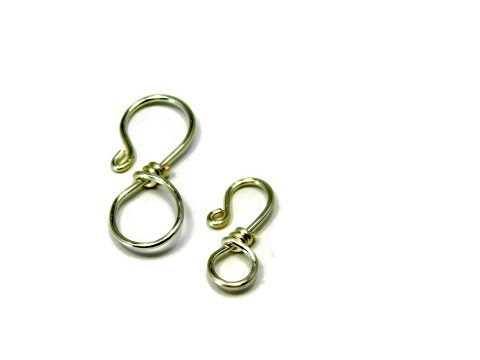 Make Your Own Jewelry Clasps - DIY Wire Wrapped Hook Clasps