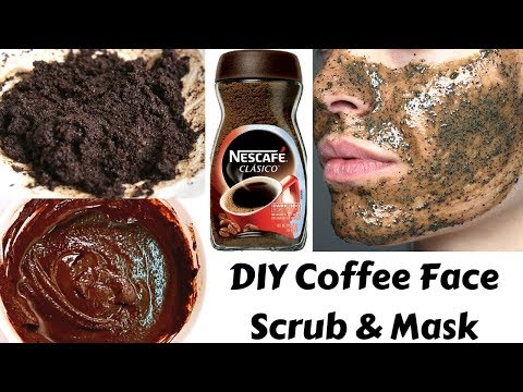 Homemade Coffee Scrub & Mask | Removes Suntan, Dark Spots & Aging Signs | Get Fair & Glowing Skin