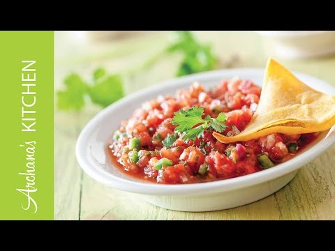 Spicy Mexican Salsa Recipe by Archana's Kitchen