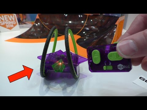 HEXBUG RING ROVER - First Look at Toy Fair 2018