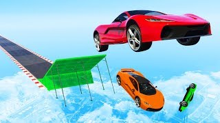 ONLY ONE CAN MAKE THE JUMP! - GTA 5 Funny Moments