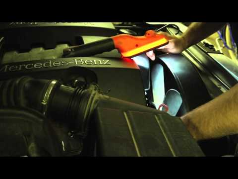 Mercedes ML320 testing cooling fan clutch