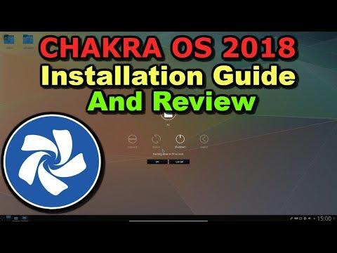 Chakra OS 2018 Installation Guide