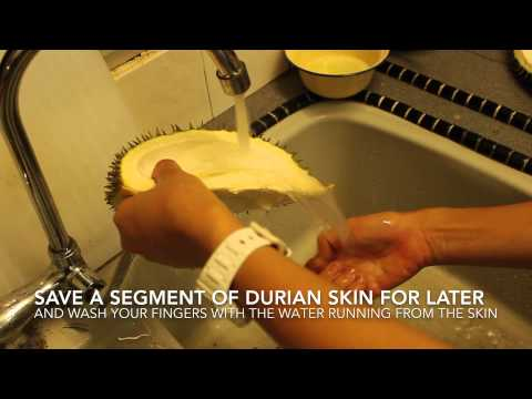 Home Remedy Secret - Get rid of Durian smells