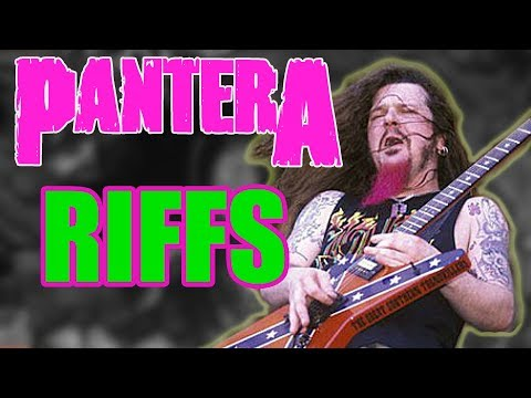 Top 8 Pantera Guitar Riffs That Will Blow Your Mind