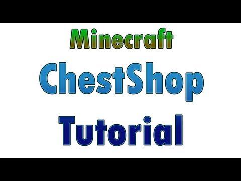 [ChestShop] How to create a shop - Bukkit Plugin for Minecraft - AhellHound