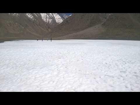FROZEN LAKE AT 4500 Meters near Changla Pass
