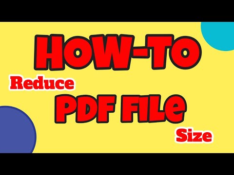 [How-To] - Reduce PDF File Size (The Easy Way) Using Mac OS