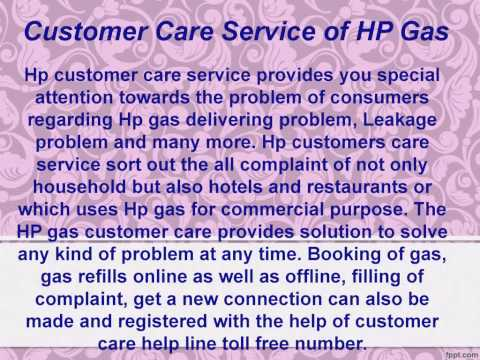 HP Gas New Connection Process