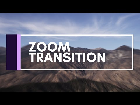 After Effects Tutorial | Zoom Transition