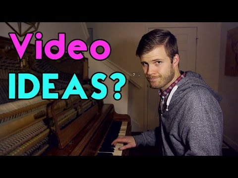 VOICE YOUR OPINION! What videos do YOU want me to make?