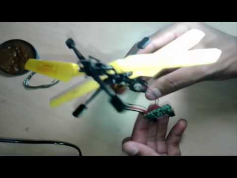 air drone (control from dvd remote)