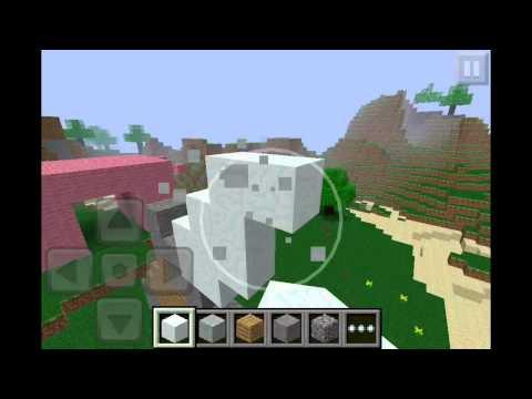 Minecraft Pocket Edition Speed Build: Sword