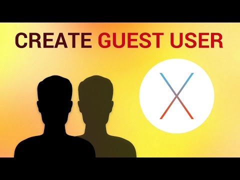 How To Create Guest Login User on Mac