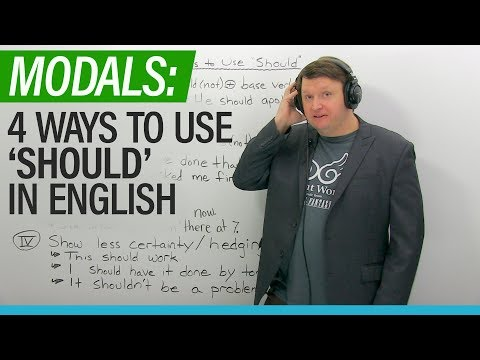 English Modals: 4 ways to use