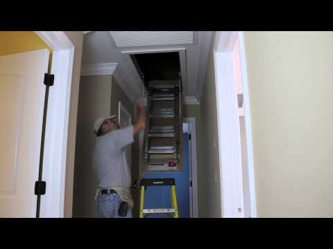 Easy Way to Install an Attic Door