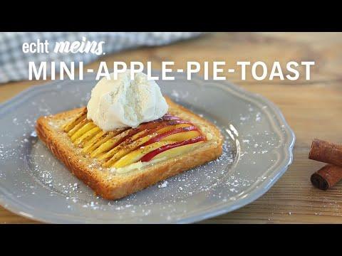Mini Apple Pies mit Toast
