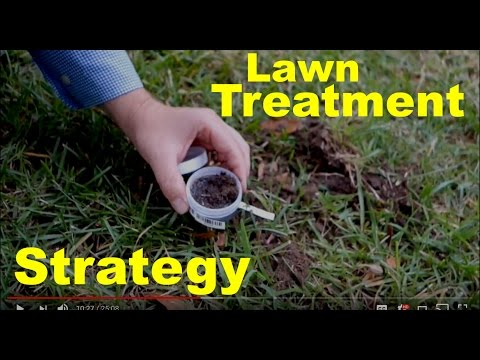 Lawn Soil Testing, Lime Applications, Project Lawn 2017