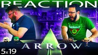 """Arrow 5x19 REACTION!! """"Dangerous Liaisons"""""""