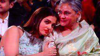 Emotional Aishwarya Rai Bachchan CRYING on mother- in- law Jaya Bachchan