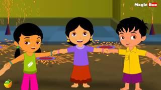Deepavali - Telugu Nursery Rhymes - Cartoon And Animated Rhymes For Kids