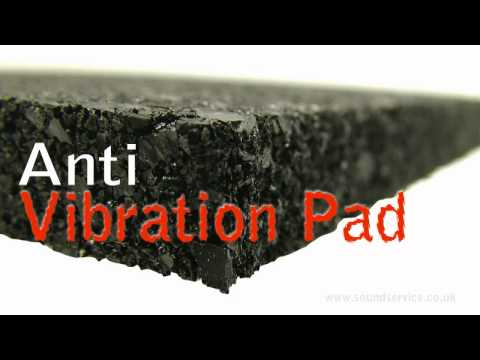 How To Reduce Vibration From Washing Machines & Gym Equipment. - The Anti-Vibration Pad